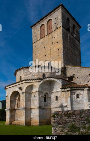 Frankreich, Royal, Haute Garonne, romanische Basilika Saint Just durch Saint Bertrand de Comminges. - Stockfoto