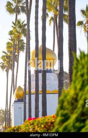 Self Realisation Fellowship Gebäude in Encinitas California, USA - Stockfoto