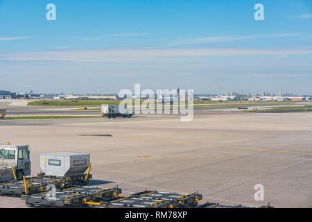 Toronto, SEP 31: Blick vom Internationalen Flughafen Toronto Pearson auf Sep 31, 2018 in Toronto - Stockfoto