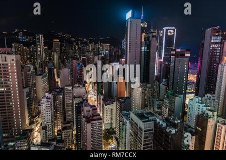 Skyline von Hong Kong - Stockfoto
