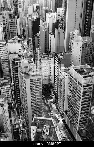 Skyline von Hong Kong - Stockfoto
