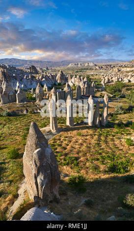 """Fotos & Bilder der Fairy Chimney Rock Formationen und rock Säulen von """"love Valley"""" in der Nähe von Göreme in Kappadokien, Nevsehir, Türkei - Stockfoto"""