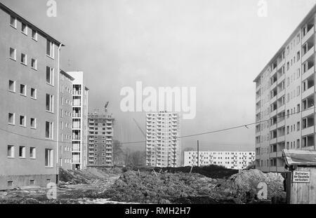 Bau Der Park Siedlung Im Munchner Stadtteil Bogenhausen Der Entwickler War Die Neue Heimat Bayern Stockfotografie Alamy