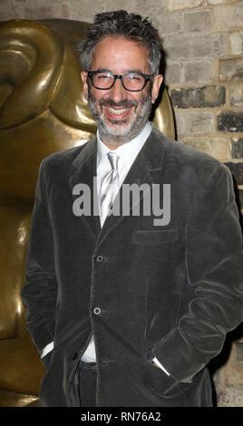 Nov 22, 2015 - London, England, UK - British Academy's Kinder Awards, The Roundhouse, Camden Foto zeigt: David Baddiel - Stockfoto