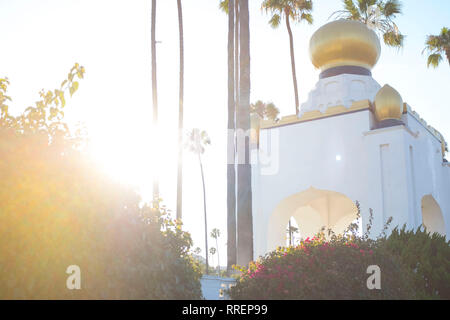 Self Realisation Fellowship Gebäude in Encinitas California - Stockfoto