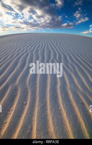 Bilder von White Sands National Monument in New Mexico - Stockfoto