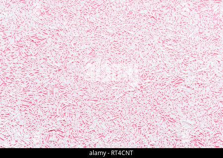 Trendy Muster von weiß über rosa Hintergrund sprengt, Dekoration für Donut Hintergrund Glasur - Stockfoto