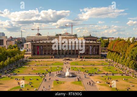 Deutschland, Berlin, Berlin-Mitte, Museumsinsel, Altes Museum - Stockfoto
