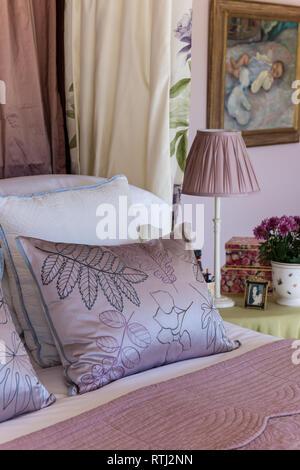 Traditionelle Schlafzimmer detail Himmelbett Vorhang ...