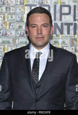 "New York, USA. 3. Mär 2019. Ben Affleck besucht die ""Triple Frontier' Weltpremiere auf Jazz am Lincoln Center am 03 Maerz, 2019 in New York City. Credit: Erik Pendzich/Alamy leben Nachrichten - Stockfoto"