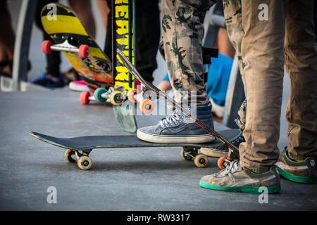 Venice Beach Skate Park - Stockfoto