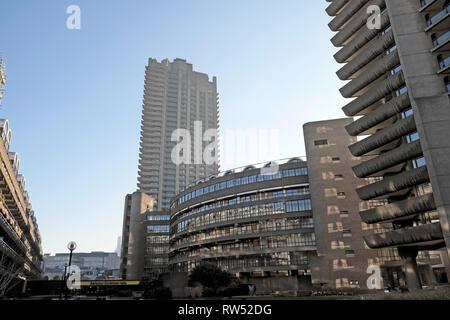 Eine Ansicht des Gehäuses Blöcke auf dem Vorwerk-zustandes in der Stadt von London England UK KATHY DEWITT - Stockfoto