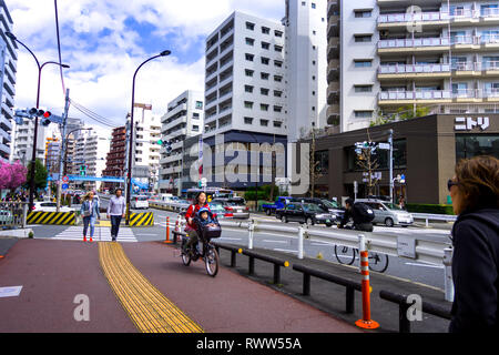 Tokyo Street & Architektur - Stockfoto
