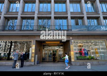Bayer-Haus, Kurfürstendamm, Charlottenburg, Berlin, Deutschland - Stockfoto