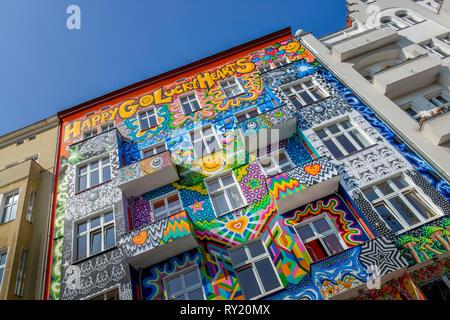 Hostel, Stuttgarter Platz, Charlottenburg, Berlin, Deutschland - Stockfoto