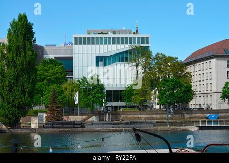 Niederlaendische Botschaft, Klosterstrasse, Mitte, Berlin, Deutschland - Stockfoto