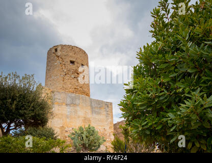 Castell de Capdepera, Mallorca (Mallorca), Balearen, Spanien - Stockfoto