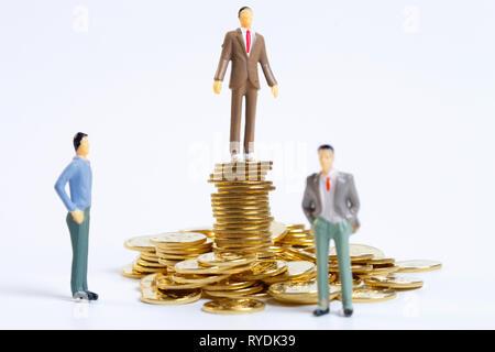 Gold Münzen - Stockfoto