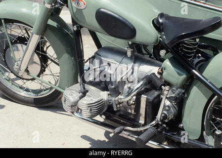 Verkehr/Transport, Motorrad, Zuendapp 1000c, Detail, Mitte des 20. Jahrhunderts, Additional-Rights - Clearance-Info - Not-Available - Stockfoto