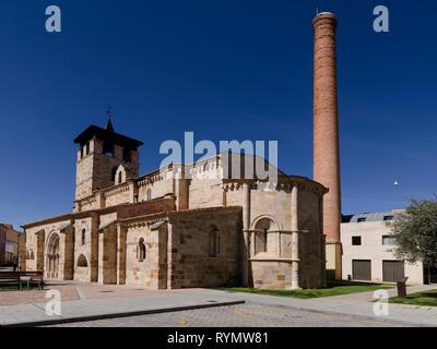 Iglesia Santa Maria de la Horta de Zamora - Stockfoto