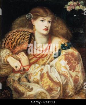 Dante Gabriel Rossetti: Monna Vanna, 1866. - Stockfoto