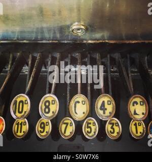 Alte Vintage bis Schlüssel - Stockfoto