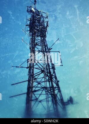 Telekommunikation-mast - Stockfoto