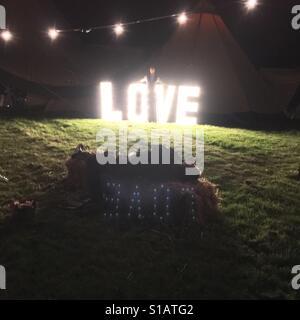 Betrunken in der Liebe - Stockfoto