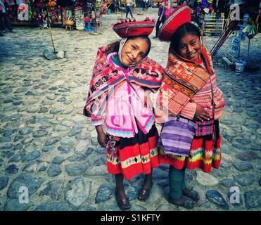 Peruanische Mädchen