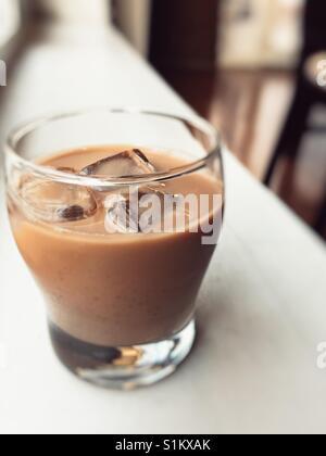 Kalter Kaffee - Stockfoto