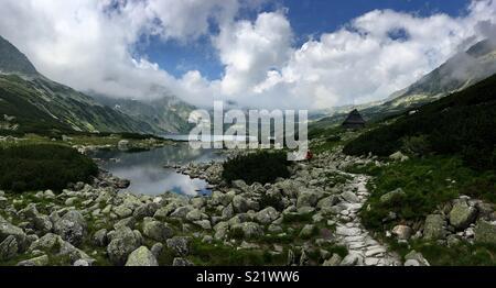 Wandern in der polnischen Tatra, Sommer 2016 - Stockfoto