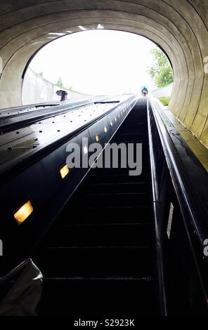 Washington DC U-Bahn - Stockfoto