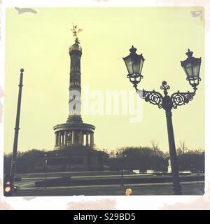 Siegessäule in Berlin - Deutschland - Stockfoto
