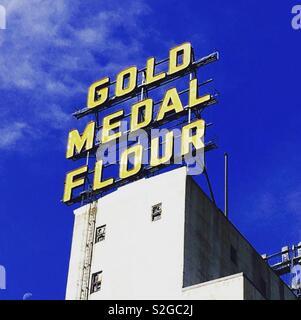 Goldmedaille Mehl - Stockfoto