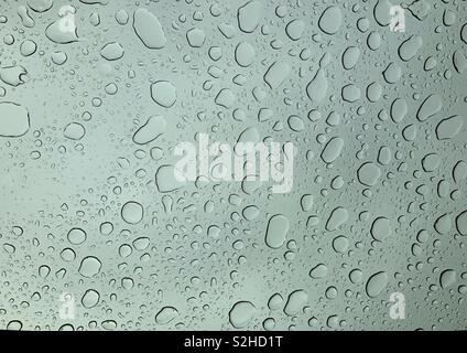 Wo der Regen fällt... - Stockfoto