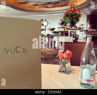 VUE 24 Restaurant, Foxwoods Resort Casino, Mashantucket, Connecticut, USA - Stockfoto