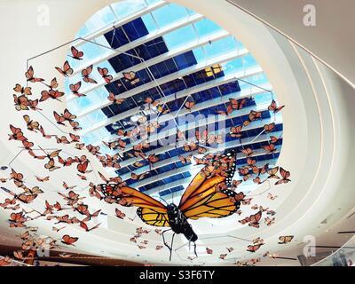 Kaleidoscope, eine Kunstinstallation des Künstlers Christopher Lutter-Gardella in der Mall of Americs.