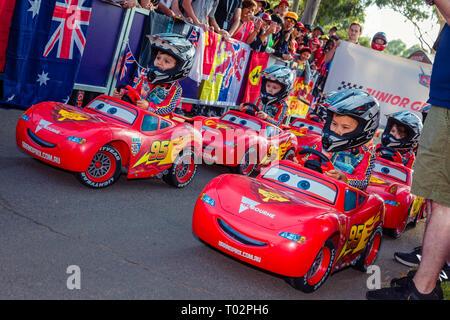 Melbourne, Australien. 16. März 2019. Während des Formel 1 Grand Prix von Australien 2019 Rolex am Albert Park Lake. Credit: Dave Hewison Sport/Alamy leben Nachrichten - Stockfoto