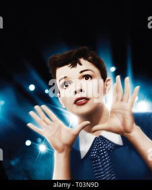 JUDY GARLAND, EIN STAR WIRD GEBOREN, 1954 - Stockfoto
