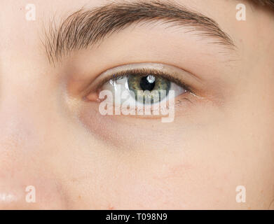 Menschliche eyse close-up - Stockfoto