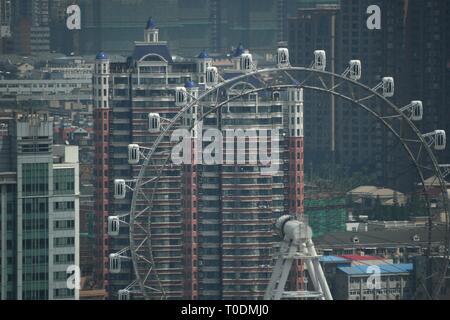 Shanghai - das faszinierende und bezaubernde Stadt der Welt - Stockfoto