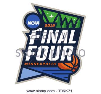 NCAA Basketball Turnier logo Icon - Stockfoto