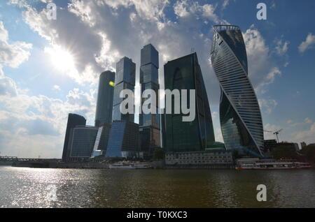 International Business Center in Moskau, Russland. - Stockfoto