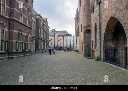 Der Binnenhof Den Haag die Niederlande 2018 - Stockfoto
