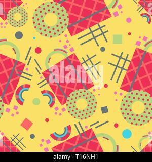 Zusammenfassung nahtlose Muster. Geometrische Komposition. Moderne design. - Stockfoto