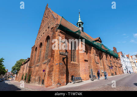 Heiligen Geist Kirche, Wismar, Mecklenburg-Vorpommern, Deutschland - Stockfoto
