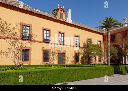 Real Alcazar, Sevilla, Spanien - Stockfoto