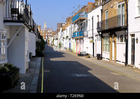 Gloucester Place Mews London W1 UK - Stockfoto