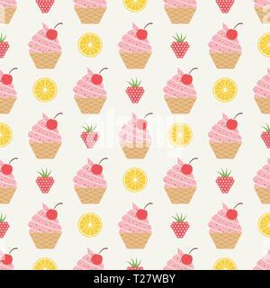 Eis Muster, bunten Sommer Hintergrund. Die eleganten und luxuriösen Stil Abbildung - Stockfoto