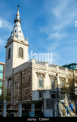 St Nicholas Cole Abbey, Queen Victoria Street, Queenhithe, London - Stockfoto